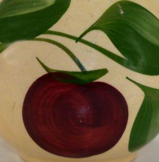 Vintage Watt Art Pottery Apple Pattern Creamer No 62