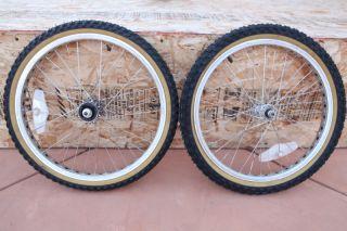 Mongoose Californian Pro Class Wheels Tires Hubs 1985 BMX Old School