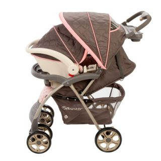 Safety 1st Saunter Luxe Stroller & Car Seat Travel System   Magnolia
