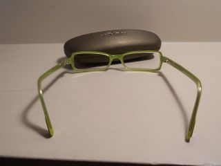 Vanni Eyeglasses Model V1724 Color A229 Lime Green Tortoiseshell Brown