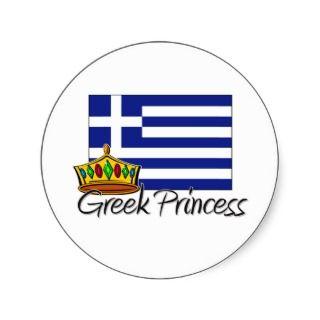 Greek Princess Sticker