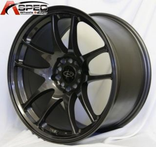 Rota Torque 18x9 5 5x114 3 ET20 Gun Metal Rims Wheels