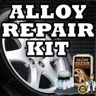 Alloy Wheel Rims ouch Up Pain New Easy Repair