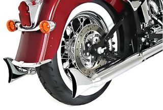 Silver Bullet Slip On Muffler   27in.   Fishtail S 211 Harley Davidson