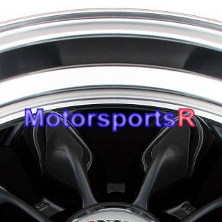 16 XXR 513 Black Staggered Wheel Datsun 240Z 280z Rims