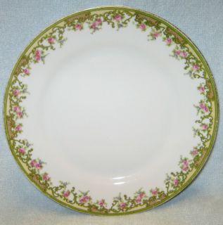 Noritake China The Alsace Pattern Bread Plate Trim Wear