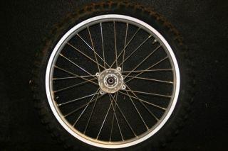 Honda CR85 CR 85 Expert Front Wheel Hub Rim 19
