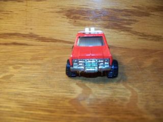 Hot Wheels 77 Hi Bank Racing Pick Up Truck Toy Car Red Vintage