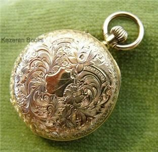 Antique 18ct Solid Gold Case Fob Pocket Watch
