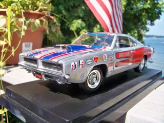 18 Ertl Mic Dick Landy 1969 Pro Stock R T Hemi 426 Dodge Charger SKU