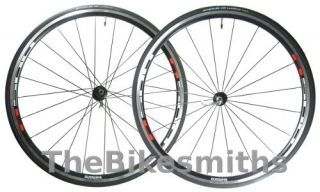 Shimano R500 700c Wheelset w Schwalbe Tires Front Rear Road Bike Race
