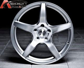 19x8 5 9 5 Euro Tek UO08 Hyper Silver 5x120 Wheel Fit BMW Z3 Z4 325