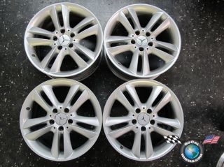 09 Mercedes MBZ C CLK Factory 17 Wheels OEM Rims 209 65388 E320 C230
