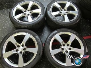 10 12 Chevy Camaro Factory 20 Wheels Tires Rims 5444 5445