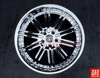 20 inch Rims Wheels Versante 212 Magnum Challenger Marquis 300C Wheels