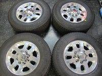Chevy HD 2500 HD2500 3500 Factory 18 Wheels Tires OEM Rims 8x180 5502