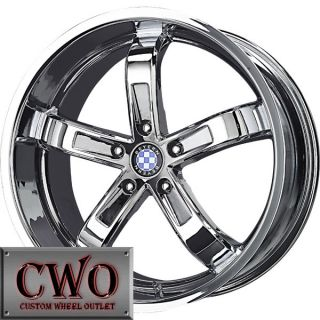 17 Chrome Beyern 5 Wheels Rims Tires 5x120 5 Lug