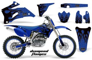 Amrracing Dirtbike Sticker Plate Graphic Decal Yamaha YZ450F YZ YZ250F