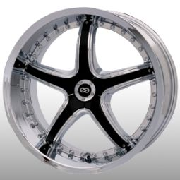 18 Enkei LS 5 Chrome Rims Wheels 350Z 370Z G35 G37