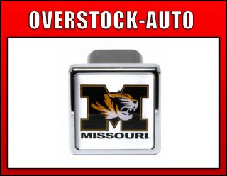 Pilot 2 inch College Trailer Hitch Cover Missouri Tigers NCAA Logo