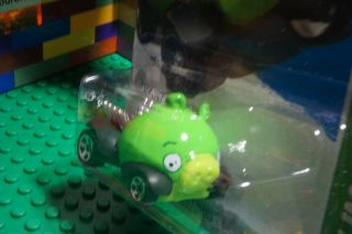 Hot Wheels Rovio Green Angry Birds Minion Pig Diecast HW Imagination