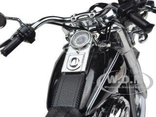 2012 Harley Davidson FLSTN Softail Deluxe Vivid Black 1 12 Highway 61