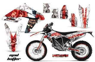 AMR Sticker Kit 450 BMW G450X Number Plate Backgrounds
