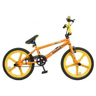 Redemption Mag Wheel Boys BMX Bike Orange Yellow 20 inch New