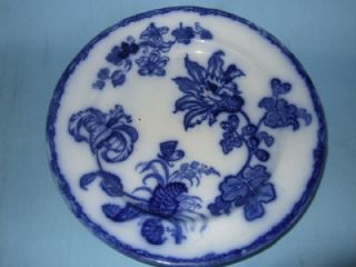 RARE homas Dimmock Flow Blue Lily Pa Warming Plae