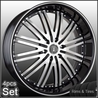 Tires Escalade Chevy Ford QX56 Rims H3 Silverado Yukon Tahoe