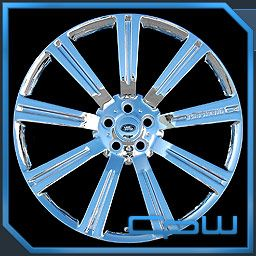 24 inch Range Rover Sport Chrome Wheels Rims Land Rover Stormer 20 22