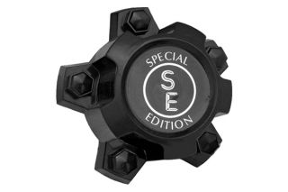 Rim Lug Nut Wheel Skin Center Hub Cap 4 Pcs Set Black CCI Brand New