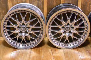 Work Rezax DDC Rims Alloy Wheels 18 x 9 5J 8 5J 5x114 240sx s14 Supra