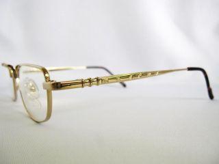 Koure KR8154 Shiny Gold Melrose Style Eyeglasses 55