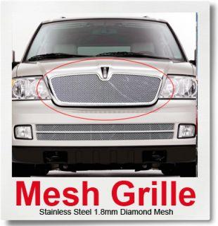 03 06 Lincoln Navigator Stainless Mesh Grille Insert