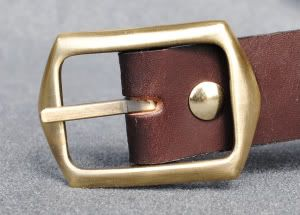 Leather Ammo Belt 22 17 Rimfire Bullet Belt 42 52