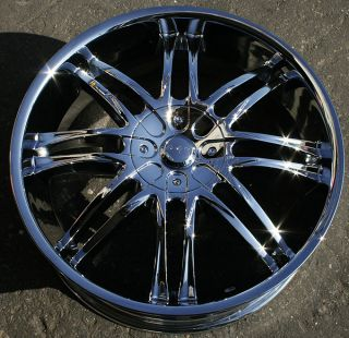Devino Inizio 823 20 Chrome Rims Wheels Lincoln LS Ford Taurus 20 x 7