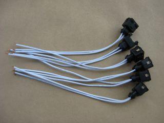 Datsun 280z 280ZX 6 New Fuel Injector Connectors EV1