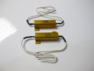 New 6 Ohm 50W LED Bulb Turn Signal Load Resistors