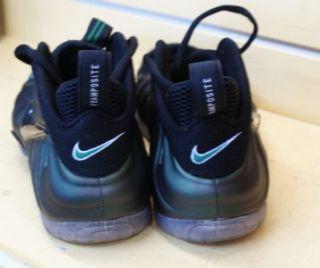 Air Foamposite Pro Pine Green Black Mens Sneakers Size 8 5