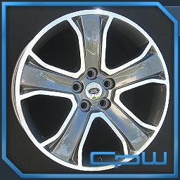 Machined Face 20 Land Range Rover wheels Supercharged rims HSE Sport