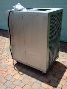 Portable Air Cooled Commercial 32000 BTU Air Conditioner Digital AC s