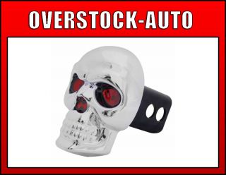 Bully CR018 Hitch Receiver Cover LED Brake Light Skull Eyes Light Up