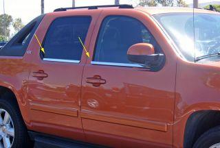 2007 2011 Chevy Suburban Tahoe Yukon SS Window Molding