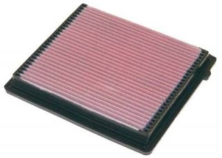 Air Filter Element Rectangular Cotton Gauze Red Chrysler Dodge