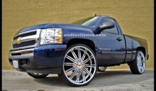 24inch Wheels and Tires Rims 300C Magnum Charger Challenger Camaro