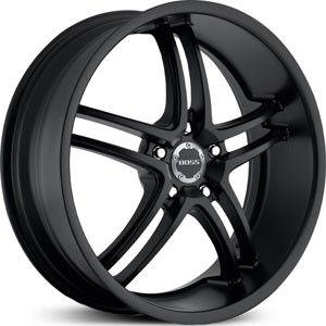 20 inch 20x8 5 Boss 340 Black Wheel Rim 5x4 5 5x114 3 CL RL RSX TL TSX