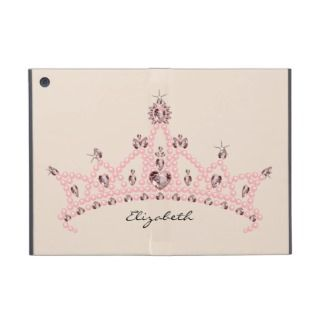 Rhinestone Tiara iPad Mini Case with Kickstand