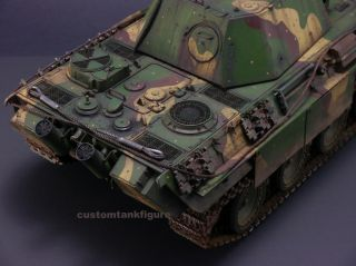 Custom 1 16 German Panther G Panzer V Tiger RC Heng Long Battle Tank