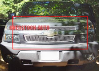 Stainless Chrome Mesh Grille 2001 06 Chevy Avalanche